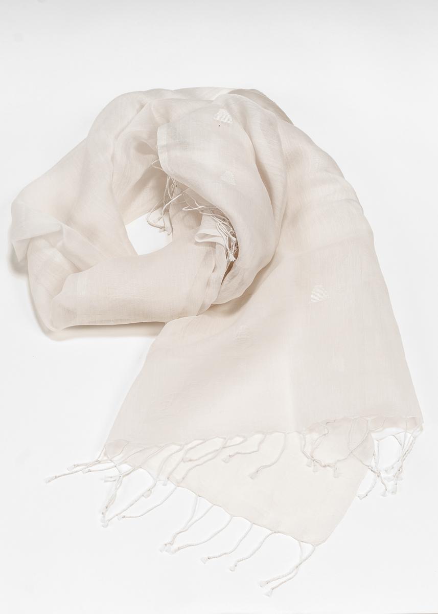 in Indien handgewebter Schal Seide