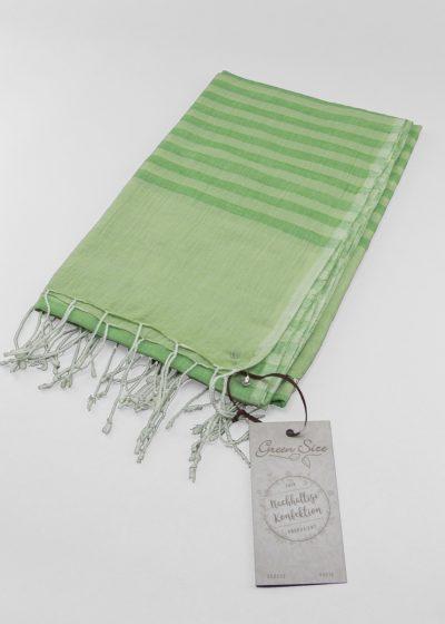 green size tuch aus indien