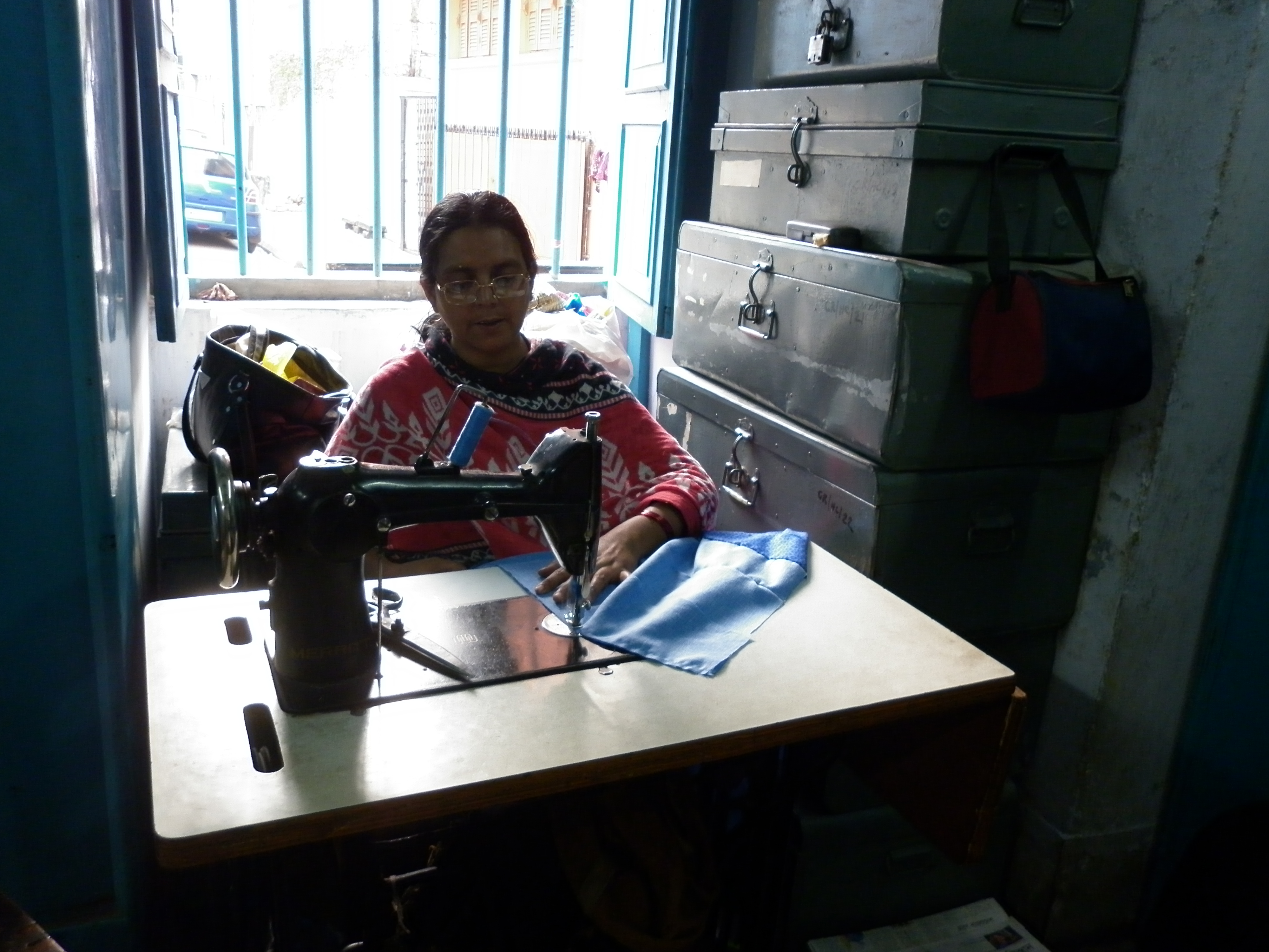 Ein Reisebericht über die Werkstatt von Calcutta Rescue