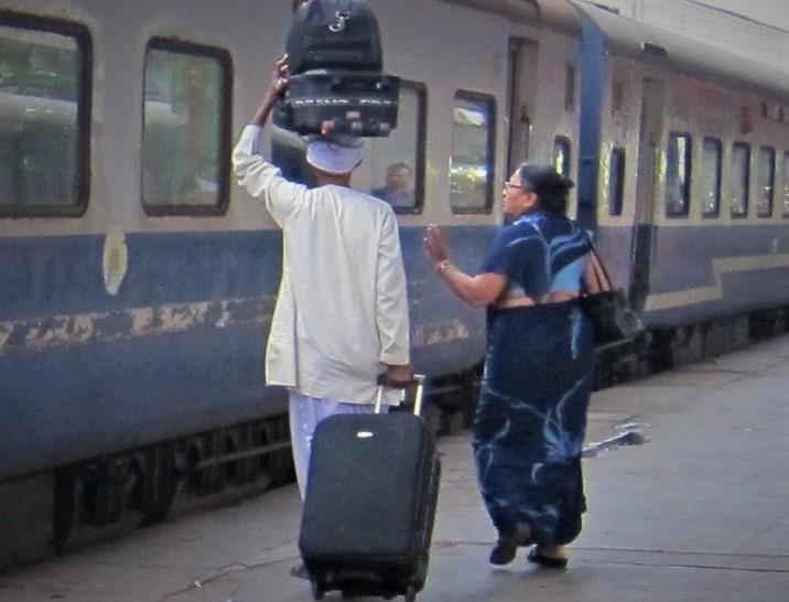 Mit dem Zug durch Indien
