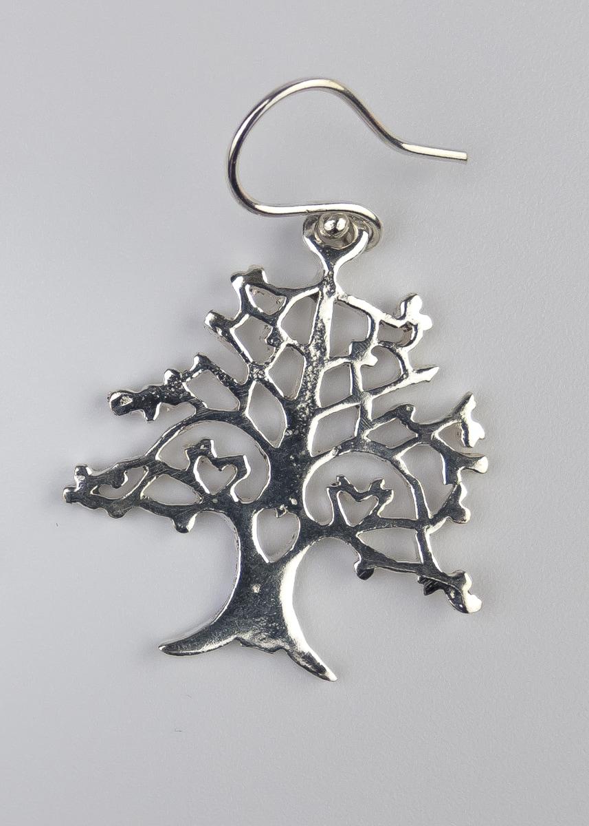 Ohrring Baum mit kleinen Herzen