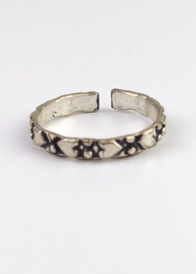 Ring indien Verstellbar herz