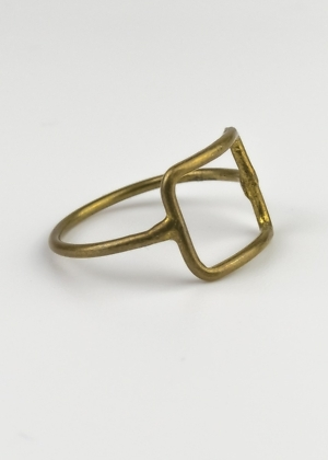 Ring Indien Metall Messing Fairtrade