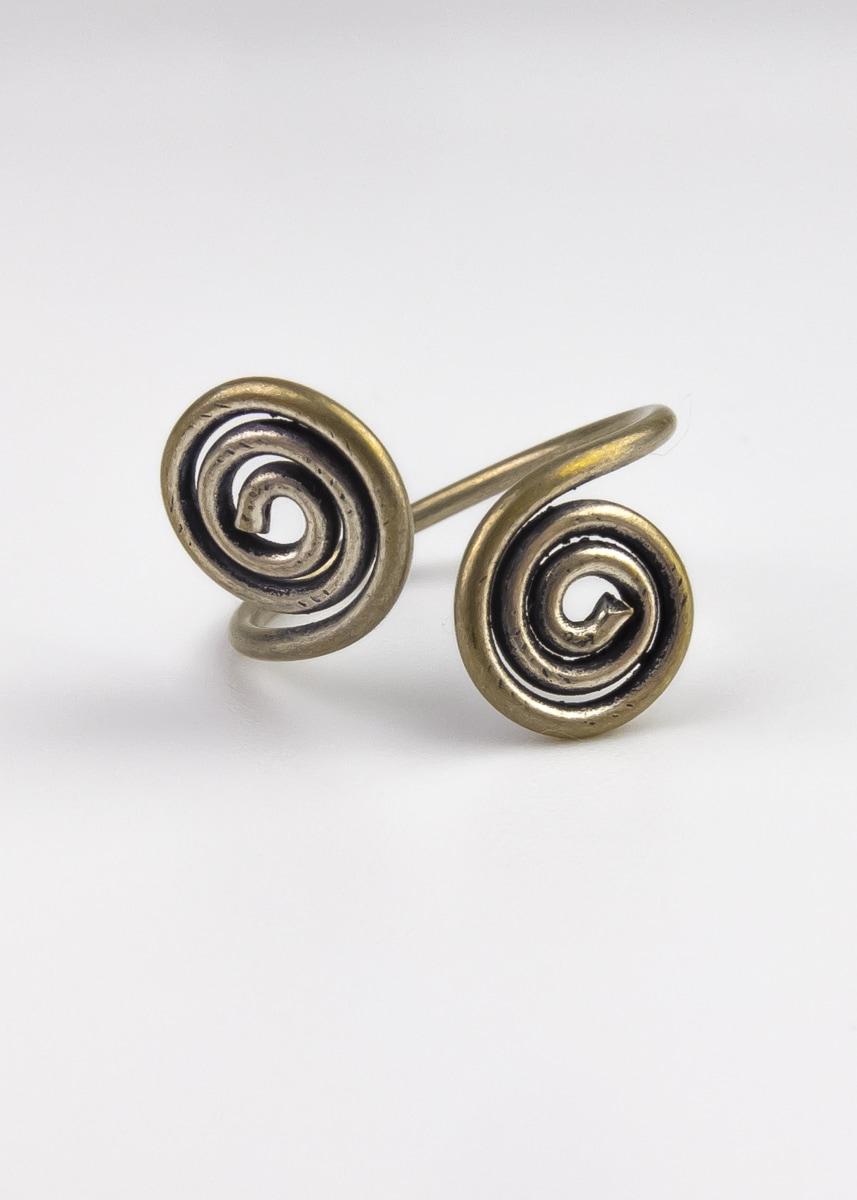 Ring Handmade Kringel gedreht Indien