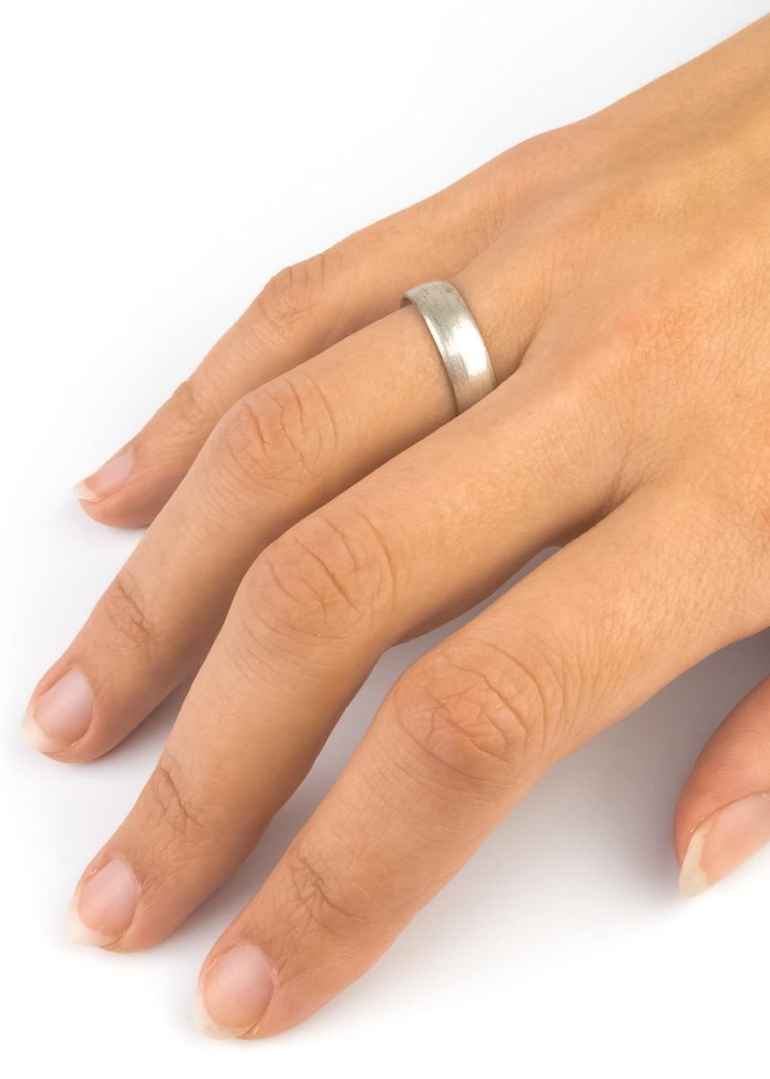 Ring Silberfarben Indien verstellbar