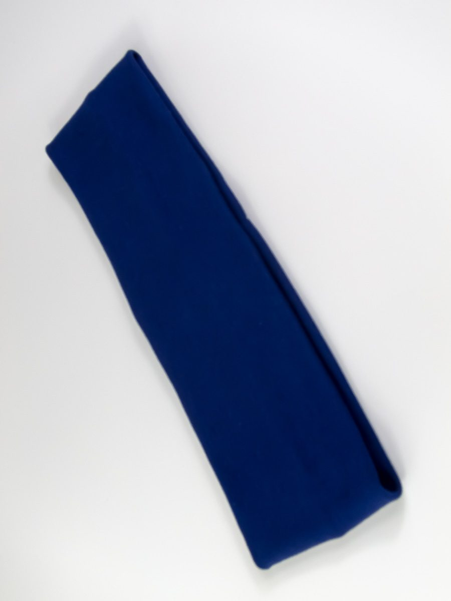 Stirnband Ada blau biobaumwolle