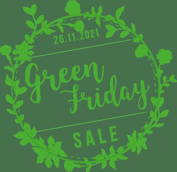 Green Friday statt Black Friday
