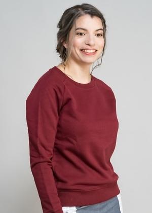 Öko Sweatshirt rot von green size
