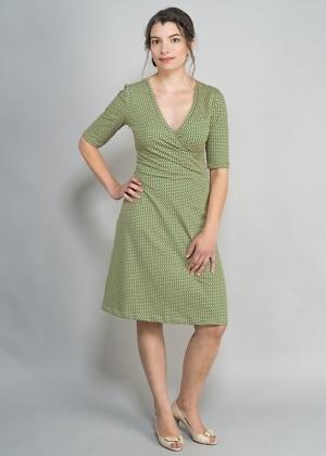 Faires Jerseykleid mini von green size