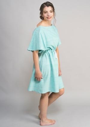 Kleid aus Bio-baumwolle für Frauen von green size