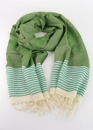 Nachhaltiges fairtrade Tuch aus Indien von Green Size