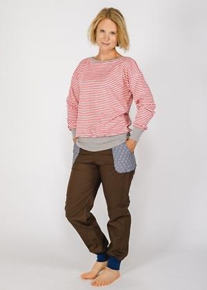 green size Pullover KBA Baumwolle aus Deutschland für Damen